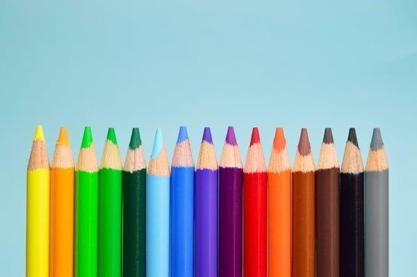 önemli yerler için renkli kalem
