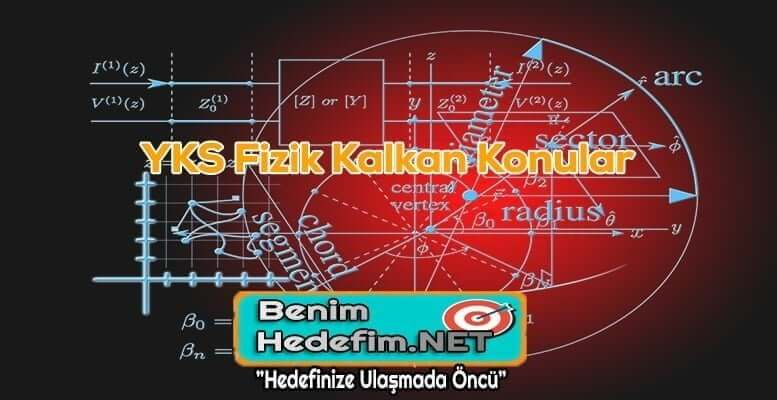 YKS Fizik Kalkan Konular