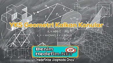YKS Geometri Kalkan Konular