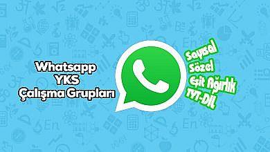 Photo of 2020 YKS Whatsapp Grupları SAY-SÖZ-EA-DİL-TYT