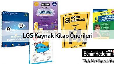LGS Kitap Önerileri
