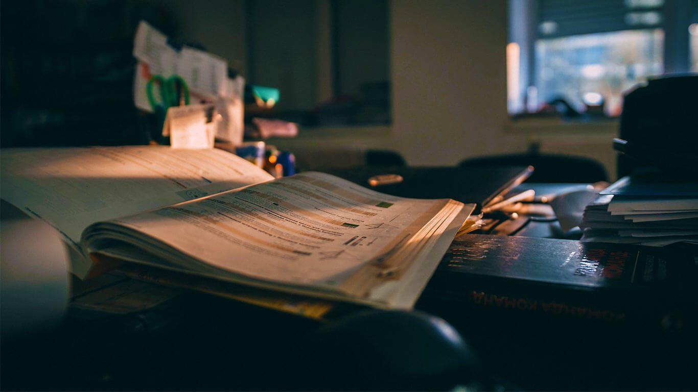 Ders Çalışma Masası Düzeni