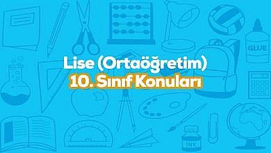 Photo of 10. Sınıf Fizik Konuları ve Müfredatı 2019-2020