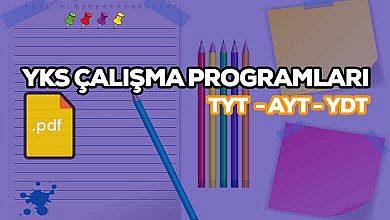 Photo of YKS(TYT – AYT) Sayısal(MF) Çalışma Programları 2020