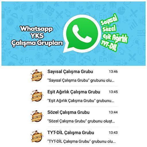 2021 YKS TYT AYT Whatsapp Grupları