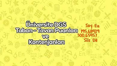 Photo of Ankara Üniversitesi DGS Taban Puanları 2020