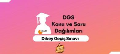 2021 DGS Konuları, DGS Soru Dağılımı