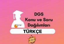 2021 DGS Türkçe Konuları, DGS Türkçe Soru Dağılımı
