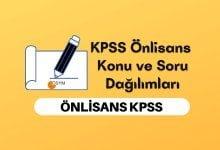 2022 KPSS Önlisans Konuları ve Soru Dağılımları, KPSS Önlisans Soru Dağılımı
