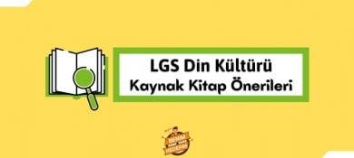 LGS Din Kaynak Kitap Önerileri, 8. Sınıf Din Kültürü kaynak tavsiyeleri