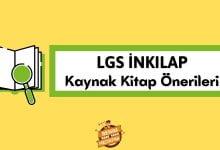 LGS İnkılap Kaynak Kitap Önerileri, 8. Sınıf İnkılap kaynak tavsiyeleri