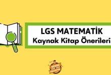 LGS Matematik Kaynak Kitap Önerileri, 8. Sınıf Matematik kaynak tavsiyeleri