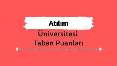 Atılım Üniversitesi Taban Puanları ve Sıralamaları
