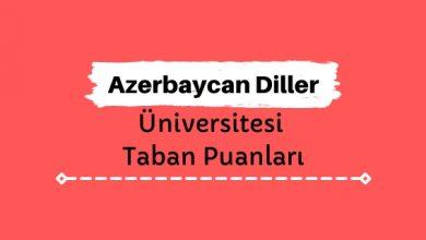 Azerbaycan Diller Üniversitesi Taban Puanları ve Sıralamaları - ADÜ