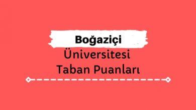 Boğaziçi Üniversitesi Taban Puanları ve Sıralamaları, BOÜN Taban Puanları ve Başarı Sıralaması