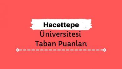 Hacettepe Üniversitesi Taban Puanları ve Sıralamaları, HÜ Taban Puanları ve Başarı Sıralaması