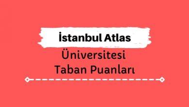 İstanbul Atlas Üniversitesi Taban Puanları ve Sıralamaları