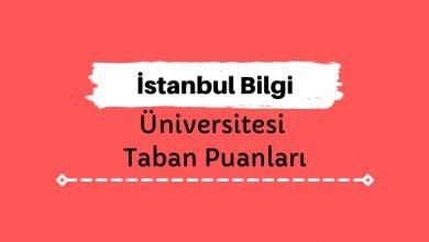 İstanbul Bilgi Üniversitesi Taban Puanları ve Sıralamaları - İBÜN
