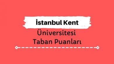İstanbul Kent Üniversitesi Taban Puanları ve Sıralamaları