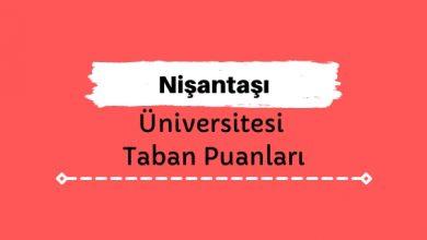 Nişantaşı Üniversitesi Taban Puanları ve Sıralamaları