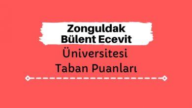 Zonguldak Bülent Ecevit Üniversitesi Taban Puanları ve Sıralamaları, BEÜN Taban Puanları ve Başarı Sıralaması